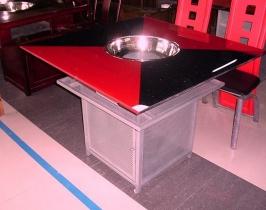 玻璃火锅桌