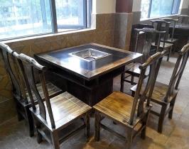 内打火火锅桌