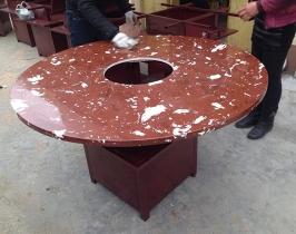 全石材火锅桌